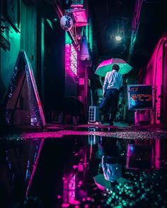 New Retro Streetwear Synthwave Fashion Brand Italo Disco, Retro Watches, Tokyo Streets, Japanese Streets, Pretty Lights, Sci Fi Movies, Blade Runner, Urban Photography, Neon Lighting