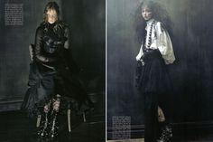 La Vie Macabre: Gothic Italian Vogue Fashion Shoot