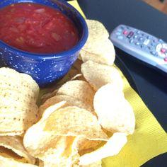 Salsa dip tray remote ready