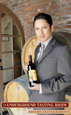 Jaime Botello of Sullivan & Botello Events, LLC at meet and greet of the Underground Tasting Room in Sacramento Ca introducing Twisted Twig Winery  https://www.facebook.com/SullivanBotelloEvents