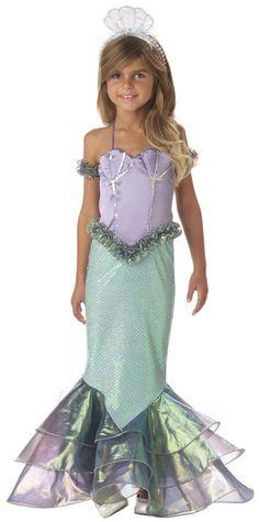 Magical Mermaid Kids Costume - Mr. Costumes More