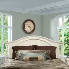 Low Price Howard Miller Arch Panel Headboard Size: King