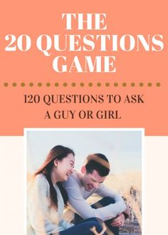 You'll be able to find twenty questions to ask a guy or girl you have a cru Questions To Ask Girlfriend, 20 Questions Game, Questions To Ask Guys, Romantic Questions, Twenty Questions, Questions To Get To Know Someone, Funny Questions, Getting To Know Someone, What If Questions