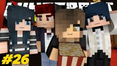 Yandere High - FIRST DATE AT THE MOVIES! (Minecraft Roleplay) #26