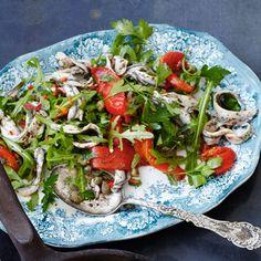 Salade de sardines et de poivrons #Recettes #WeightWatchers #zéroPoints
