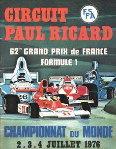 F1 - French GP - 1976