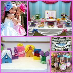 Princess Party: Aubrey's 4th Birthday Storybook Celebration (Part 1) - Mimi's Dollhouse