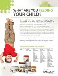 Family is so important to all of us! What are you feeding your children? Is it super nutritional food so they can focus, learn and grow the best they possibility can! If you are not..we need to talk. http://www.4amazingresults.isagenix.com/en-US/landing-pages/contact-me