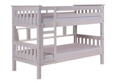 http://www.bonsoni.com/barcelona-short-bunk-bed-3ft-whitewash  This short version (160cms) is ideal for smaller rooms. Ladder can be fitted on the left or right hand side.   http://www.bonsoni.com/barcelona-short-bunk-bed-3ft-whitewash
