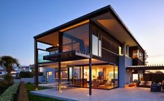 Best Minimalist Design House with the building structure Smooth and Soft