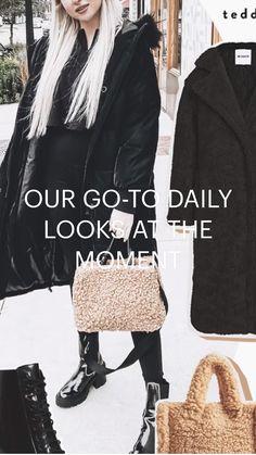 Night Aesthetic, Winter Outfits Women, Daily Look, Head To Toe, All Black, What To Wear, Fashion Inspiration, Personal Style, Autumn Fashion