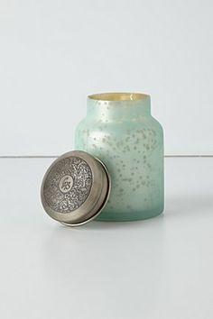 Capri Blue Mercury Glass Candle | Anthropologie.eu