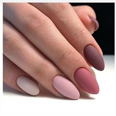We deeply hope these 70 Most Gorgeous 😊 Almond Matte Nails Inspirational Arts. - - We deeply hope these 70 Most Gorgeous 😊 Almond Matte Nails Inspirational Arts be your favorite choice💞💅. We hope you love it and save it. Cute Acrylic Nails, Matte Nails, Pink Nails, My Nails, Acrylic Nails Almond Matte, Fall Nails, Burgendy Nails, Oxblood Nails, Magenta Nails