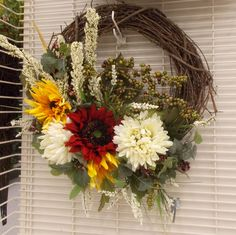 Summer Wreath Sherrie Michaels NJ