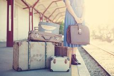Travel packing, suitcase packing, travel abroad, european travel, vintage l Vacation Packing, Packing Tips, Travel Packing, Suitcase Packing, Vintage Suitcases, Vintage Luggage, Culture Shock, Pack Your Bags, Bath And Beyond Coupon