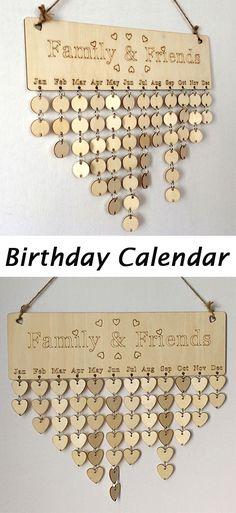 Family And Friends Birthday Calendar