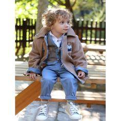 Κουστουμάκι βάπτισης Χειμερινό Mi Chiamo βαμβακερό σετ με παντελόνι, πουκάμισο, γιλέκο, μπουφάν και καπέλο, Βαπτιστικό κουστουμάκι Χειμωνιάτικο οικονομικό, Βαπτιστικά ρούχα αγόρι Χειμερινά τιμές, Χειμωνιάτικα βαπτιστικά ρούχα για αγόρι προσφορά Style, Fashion, Swag, Moda, Fashion Styles, Fashion Illustrations, Outfits