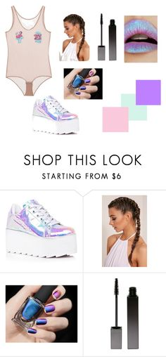 """""""Miley Cyrus"""" by patriciaronsimba on Polyvore featuring moda, Y.R.U., Serge Lutens y Lime Crime"""