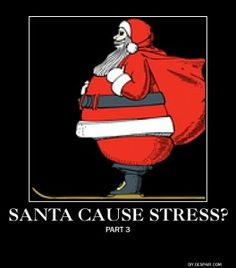 Learn how Santa caused billions in financial stress.