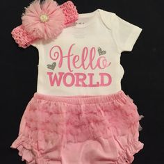 Items Similar To Personalized Bodysuit Coming Home Outfit Newborn Top Ing Baby Shower Gifts Unique