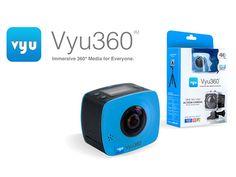proNEWS.kr: Vyu360 4K 360°액션 카메라, kickstarter 자금 조달 달성. 크리스마스 ...