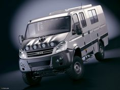 Iveco Daily 4x4 Crew Cab Rally Camp