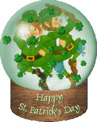 St Patrick's Day Animated Clip Art | Animated St. Patrick's Day Party And St. Paddy's Day Gif Animations