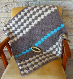 Link to free pattern by Vickie Howell for Caron baby M blanket  http://www.caron.com/vickiehowell/patterns/baby_m_blanket/baby_m_blanket.html