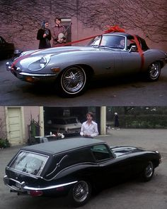 Harold and Maude hearse. Great movie. Great ride.