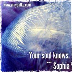 Sophia 16:2:13 by amypalko, via Flickr http://www.amypalko.com/project/goddess-guidance/