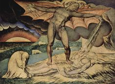 Satan Inflicting Boils on Job -William Blake