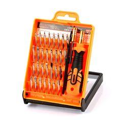 Jakemy jm-8101 destornilladores de precisión desmontar electrónica portátil tableta del teléfono celular de reparación de apertura kit de herramientas