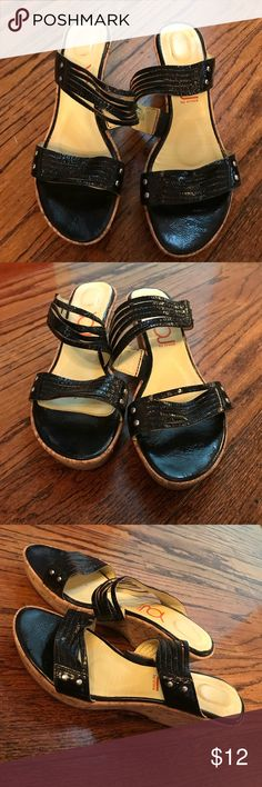You by Crocs wedge sandals You by Crocs wedge sandals. Size 9.5 You by Crocs Shoes Sandals
