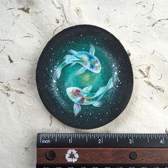 Koi Spirits // Spirit Animals of WATER by GracemereWoods on Etsy