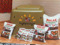 Biolanin kompostori tuli markkinoille vuonna 1978.