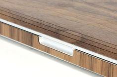 Toast Walnut Wood Apple MacBook Cover