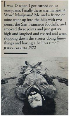 Jerry on weed