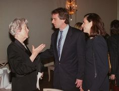 Debo Mitford (Kathleen's sister in law) with Robert F. Kennedy Jr. and Mary Richardson Kennedy.
