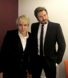 Nick Rhodes and <3 Simon Le Bon <3 (2011)