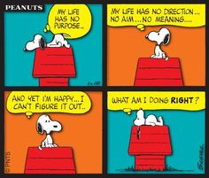 Since I was a little girl Snoopy always knew the way to make me smile and have hope!