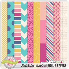 Little Miss Sunshine Bonus Papers