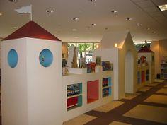 Library, childrens' department, Charlotte, North Carolina