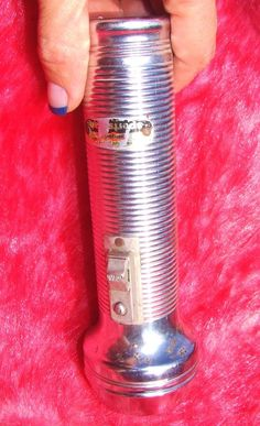 #Vintage Ray-O-Vac Sportsman #Flashlight Ribbed 2-D Cell Aluminum   vintage flashlight idea# This is now for sale on ebay, search ebay for item number 121426320370