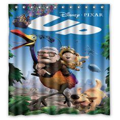 #Pixar #pixarcoco #pixarcars #pixaranimation #pixarfan #pixart #pixarstudios #pixarmovie #pixarart #dis ney #up #movie #PixarDisneyMagic #Pixardiecast #pixarup #pixarinsideout #PIXARLAVA #pixarlife #PixarAnimationStudios #pixarplayparade #pixarpier #pixargram #pixarmovies #pixartattoo #PixarLou #pixarlamp #pixarap #pixarnails #pixarupmovie #pixarminionsfullmovie #pixarsup #pixartbox #pixartoys Custom Shower Curtains, Fabric Shower Curtains, Bathroom Shower Curtains, Disney Magic, Disney Pixar Up, Pixar Tattoo, Pixar Art, Pixar Inside Out, Cartoon Up
