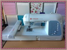 Introducing my new toy! Make Bunting, New Toys, Machine Embroidery, Sewing, Dressmaking, Couture, Stitching, Sew, Costura
