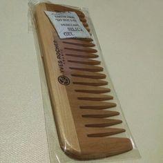 Cepillo de madera para cabello