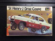 Model kit box art, '51 Henry J.