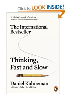 Buy Thinking, Fast and Slow by Daniel Kahneman at Mighty Ape NZ. The phenomenal New York Times Bestseller by Nobel Prize-winner Daniel Kahneman, Thinking Fast and Slow offers a whole new look at the way our minds wo. Malcolm Gladwell, Lps, New York Times, Daniel Kahneman, Thinking Fast And Slow, Deep Thinking, Leadership, Think Fast, Thing 1