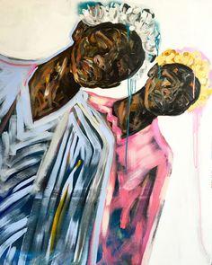 """""""Tilt Shift"""" 60x48 Acrylic on Canvas, 2016- Available"""
