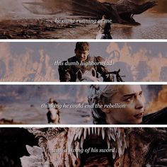 game of thrones ♕ jaime lannister and daenerys targaryen ♛ 07x04